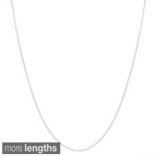 Fremada Sterling Silver 1.35-mm Cable Chain Necklace (16-40 inch)