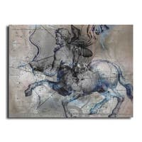 Ready2HangArt 'Zodiac Study: Sagitarus' Oversized Canvas Wall Art