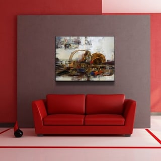 Ready2HangArt 'Muzik XIX' Oversized Canvas Wall Art