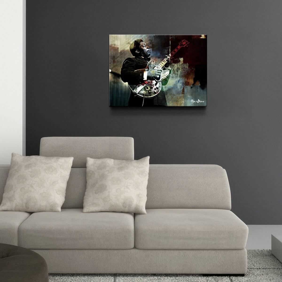 Details about ready2hangart muzik xxi oversized canvas wall art