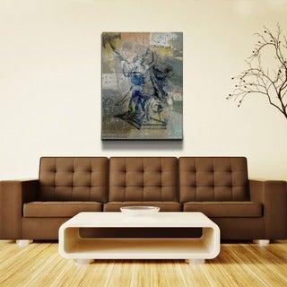 Ready2HangArt 'Zodiac Study: Virgo' Oversized Canvas Wall Art