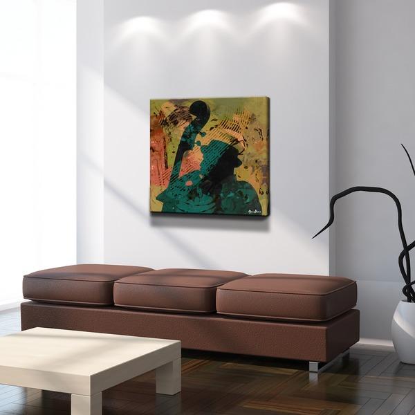 Ready2HangArt U0026#x27;The Color Of Jazz XXIu0026#x27; Oversized Canvas Wall