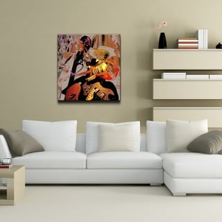 Ready2HangArt 'The Color of Jazz XX' Oversized Canvas Wall Art