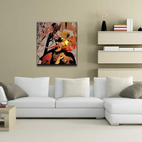Ready2HangArt 'The Color of Jazz XX' Canvas Wall Art