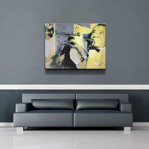Ready2HangArt 'The Color of Jazz XVI' Canvas Wall Art