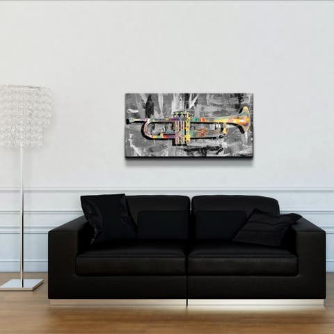 Ready2HangArt 'The Color of Jazz XV' Canvas Wall Art