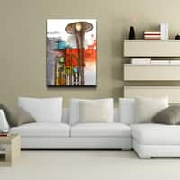 Ready2HangArt 'The Color of Jazz X' Oversized Canvas Wall Art