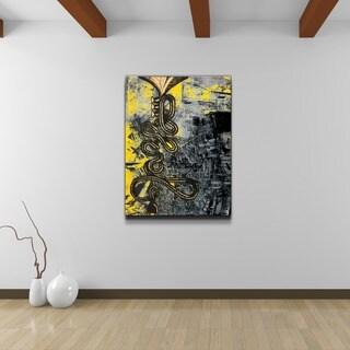 Ready2HangArt 'The Color of Jazz III' Oversized Canvas Wall Art