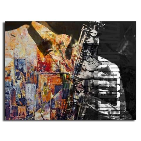 Ready2HangArt 'The Color of Jazz II' Oversized Canvas Wall Art