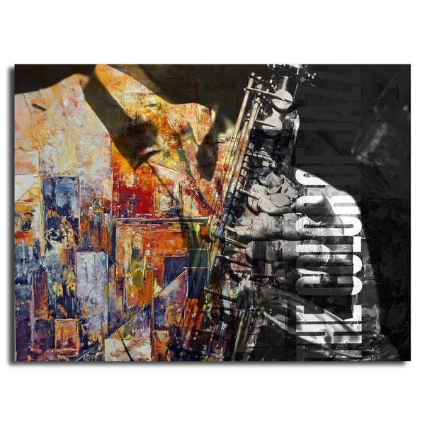 Ready2HangArt 'The Color of Jazz II' Oversized Canvas Wall Art. Opens flyout.