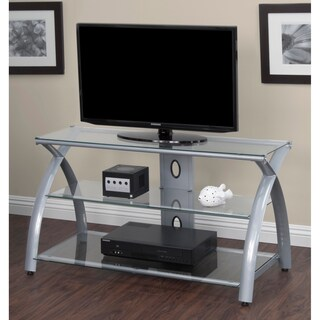 Well-liked Silver TV Stands & Entertainment Centers For Less | Overstock WW94