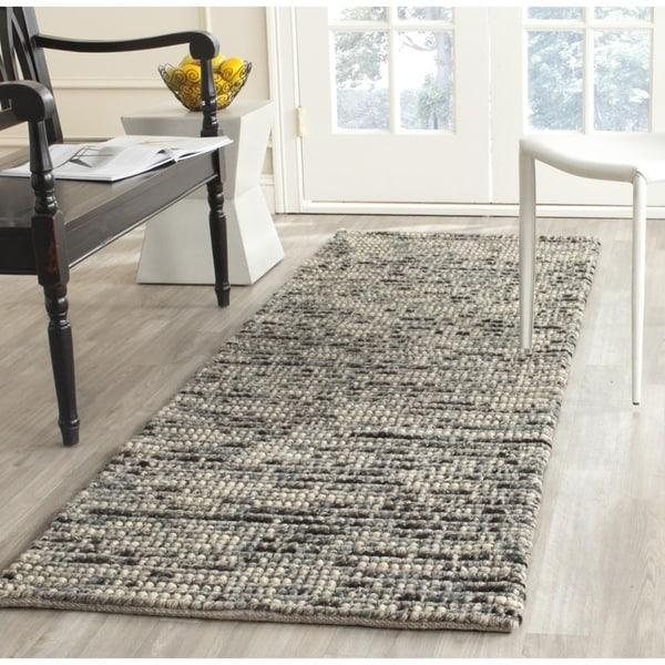 Safavieh Hand Woven Bohemian Grey Multi Wool Jute Rug