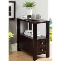 Laurel Creek Irene Wood Single-drawer Side Table