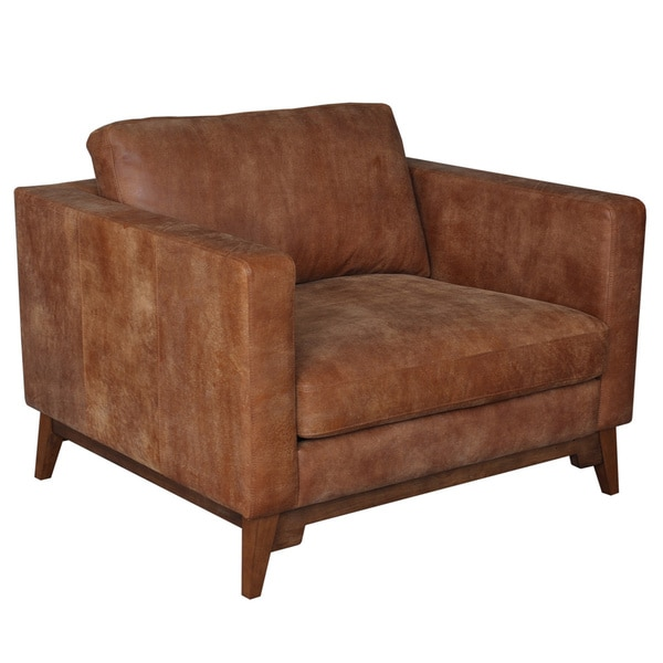 leather swivel rocker club chair tan ikea chairs