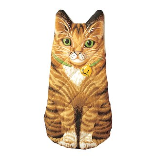 Botston Warehouse Kitten Brown Quilted Cotton Oven Mitt