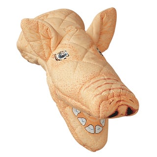 Pig Pink Quilted Cotton Oven Mitt