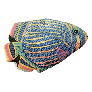 Tropical Fish Quilted Cotton Oven Mitt