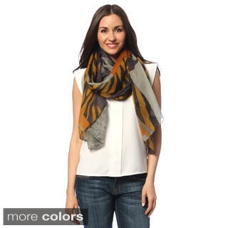 J. Furmani Printed Lightweight Scarf