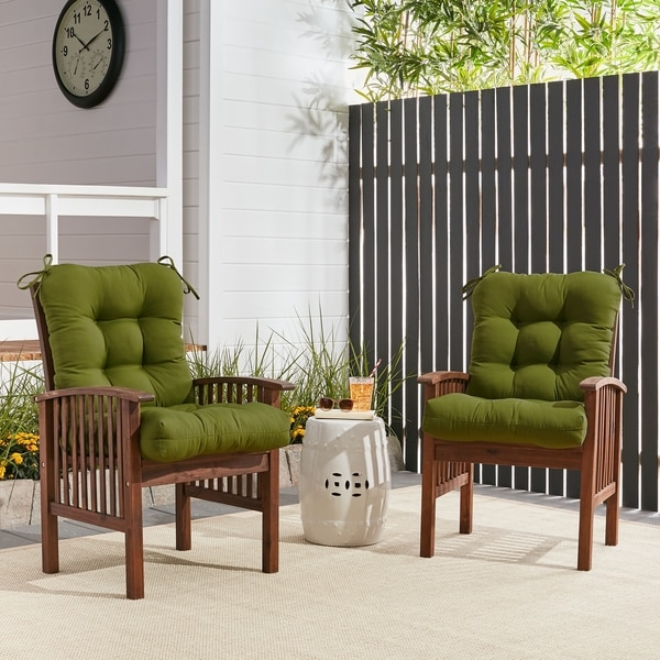 Eco Friendly Outdoor Chair Cushion   Free Shipping Today   Overstock.com    16070785