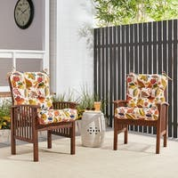 Greendale Home Fashions Outdoor Seat/Back Chair Cushion - 21w x 42l