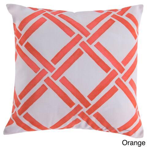 Basket Weave Indoor/ Outdoor Accent Pillow