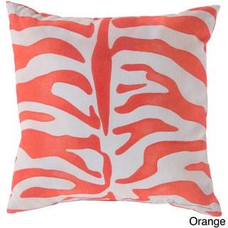 Zebra Print Indoor/ Outdoor Accent Pillow