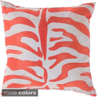 Zebra Print Indoor/ Outdoor Accent Pillow