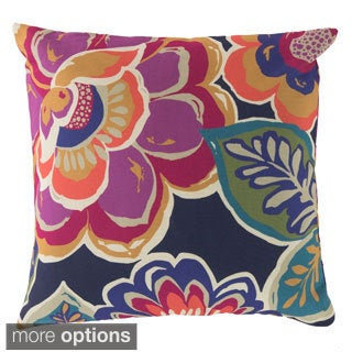Hawaiian Flowers Indoor/ Outdoor Accent Pillow