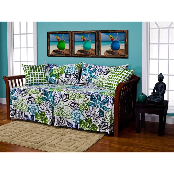 Bali Floral 5 Piece Daybed Ensemble Free Shipping Today