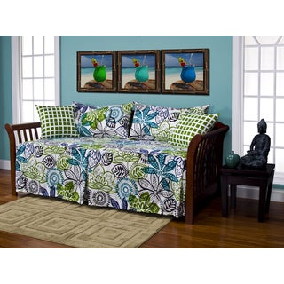 Bali Floral 5-piece Daybed Ensemble