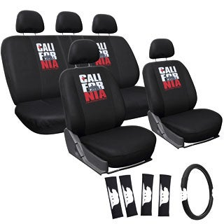 Oxgord California Bear Car Seat Cover 2-piece Set