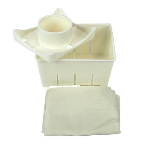Tofu Maker Press Tofu Mold with Re-Usable Cheese Cloth