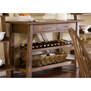 Havenside Home Franklintown Weathered Oak Server