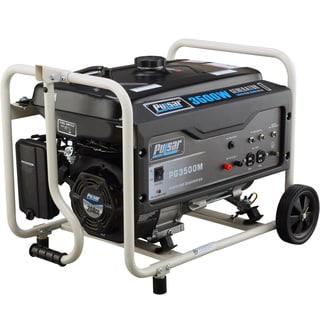 Pulsar Products 3,500-watt Gasoline Powered Portable Generator