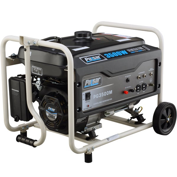 Pulsar products 3 500 watt gasoline powered portable generator free shipping today overstock - Choosing a gasoline powered generator ...