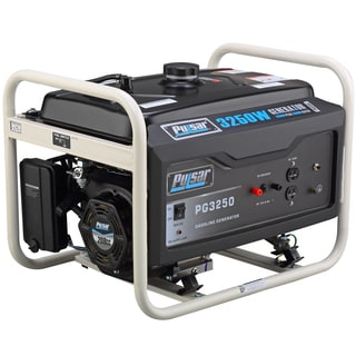 Pulsar Products 3,250-watt Gasoline Powered Portable Generator