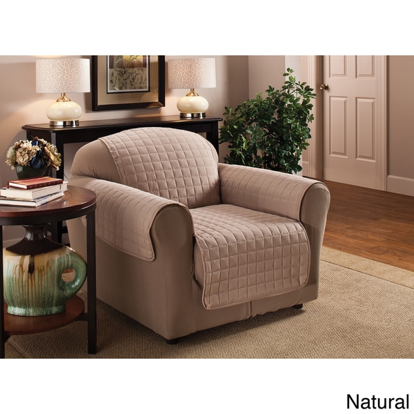 Innovative Textile Solutions Microfiber Chair Furniture Protector   Free  Shipping On Orders Over $45   Overstock.com   16070925