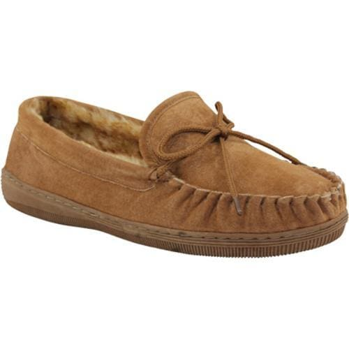40a325775934 Shop Men s Lamo Moccasin Fleece Chestnut - Free Shipping On Orders Over  45  - Overstock - 8840820