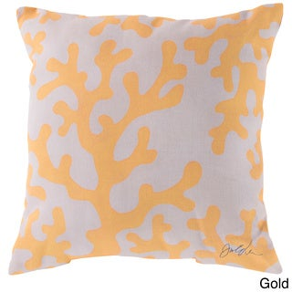 18 or 20 Coral Reef Indoor/ Outdoor Accent Throw Pillow