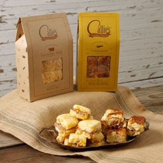 Callie's Country Ham and Cinnamon Biscuits