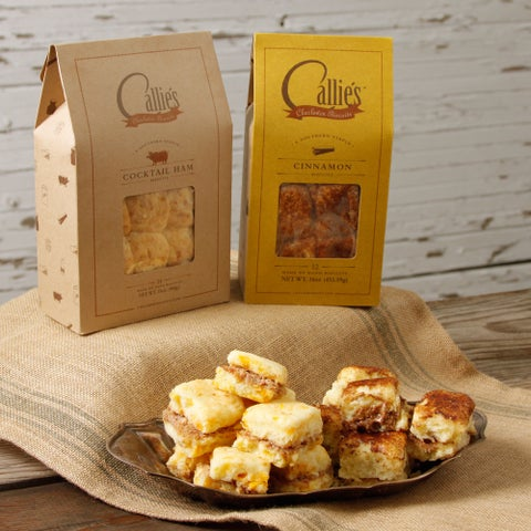 Callie's Country Ham and Cinnamon Biscuits Assortment