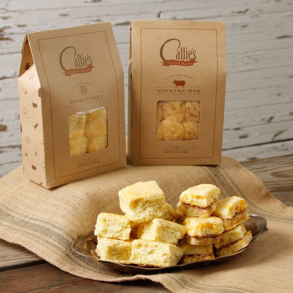 Callie's Dessert Shortcakes and Country Ham Biscuits Assortment