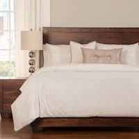 Sparkly Woven 6-piece Duvet Cover Set with Insert