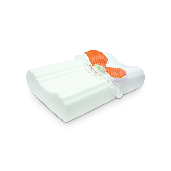 Jelly-Soft Cushion Memory Foam Contour Pillow