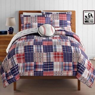 VCNY Home Run 4-piece Comforter Set