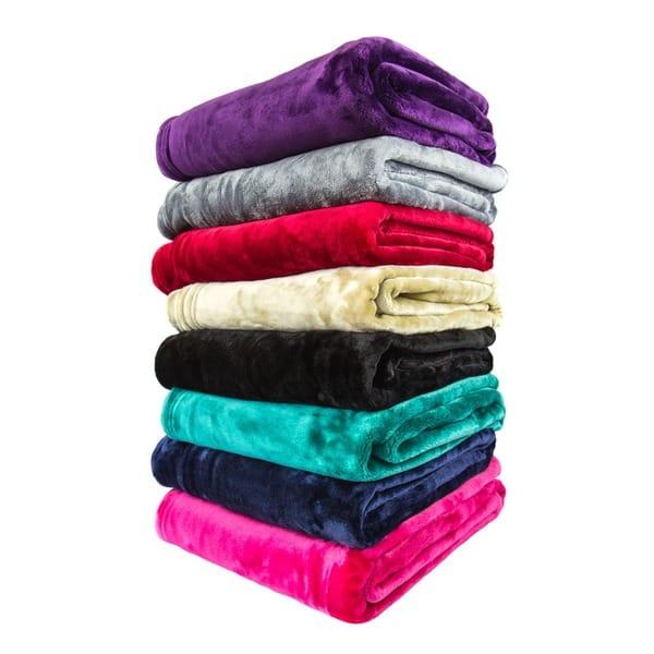 Cuddle Cloud Fleece Throw Blanket Overstock 8843317