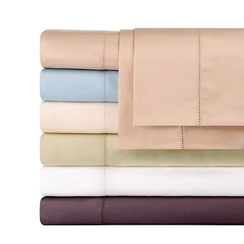 Celeste Home Pima Cotton Deep Pocket Sateen 610 Thread Count Sheet Set