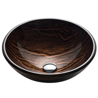 Kraus Gaia Glass Vessel Sink