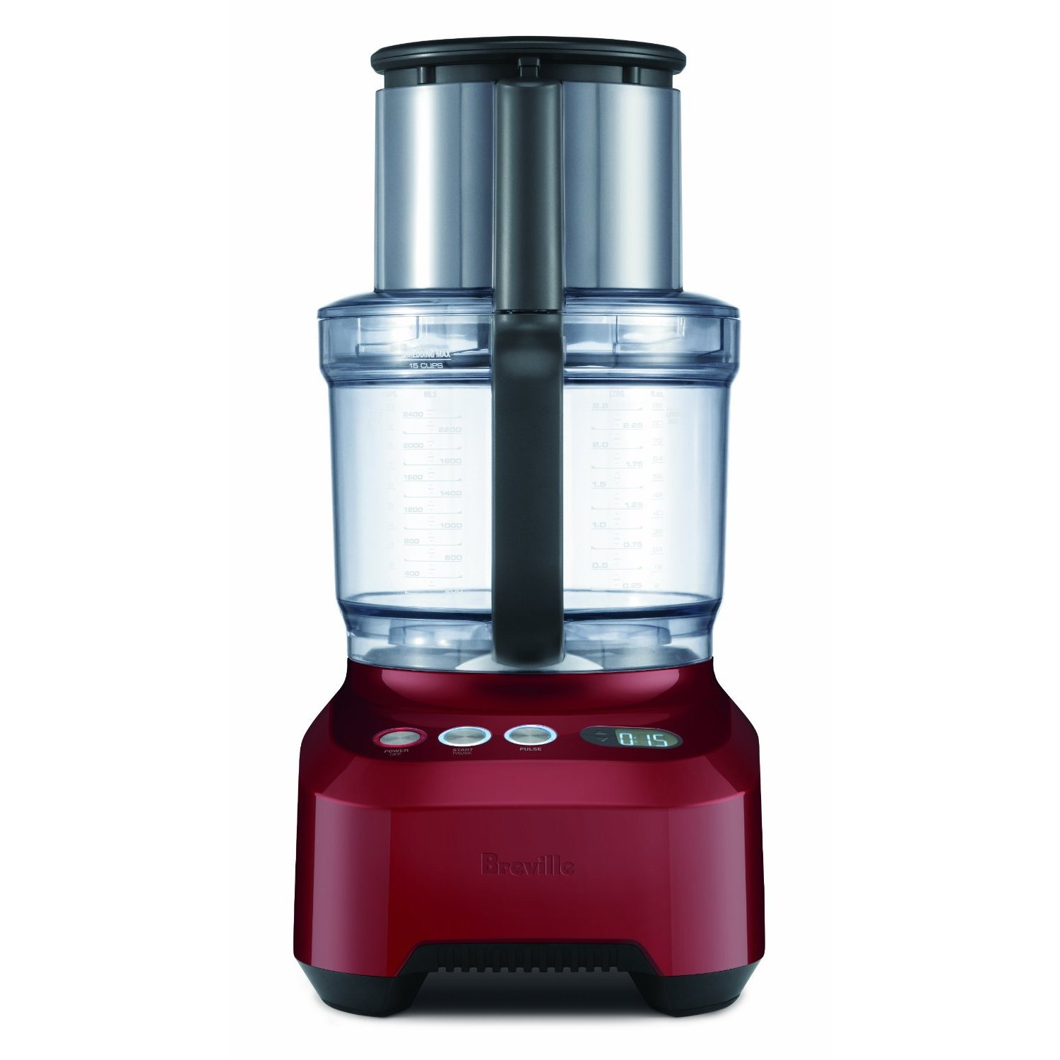 Breville BFP800CBXL 'Sous Chef' Cranberry Red Food Proces...
