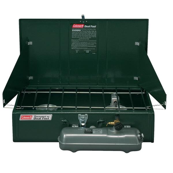 Coleman Powerhouse 414 Two-burner Dual Fuel Stove